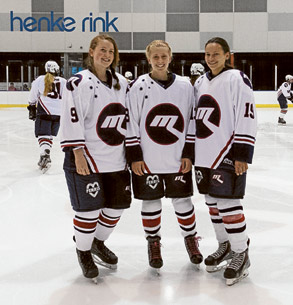 National Womens Under 18 team melbourne ice