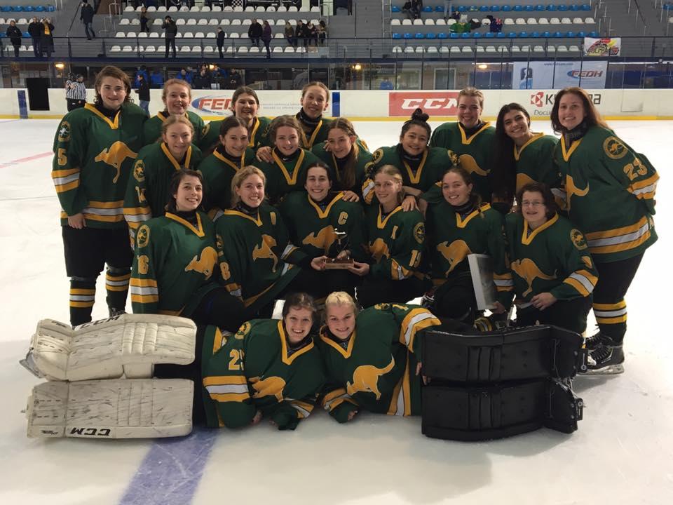 National U18 Womens Team - Ice Hockey Australia