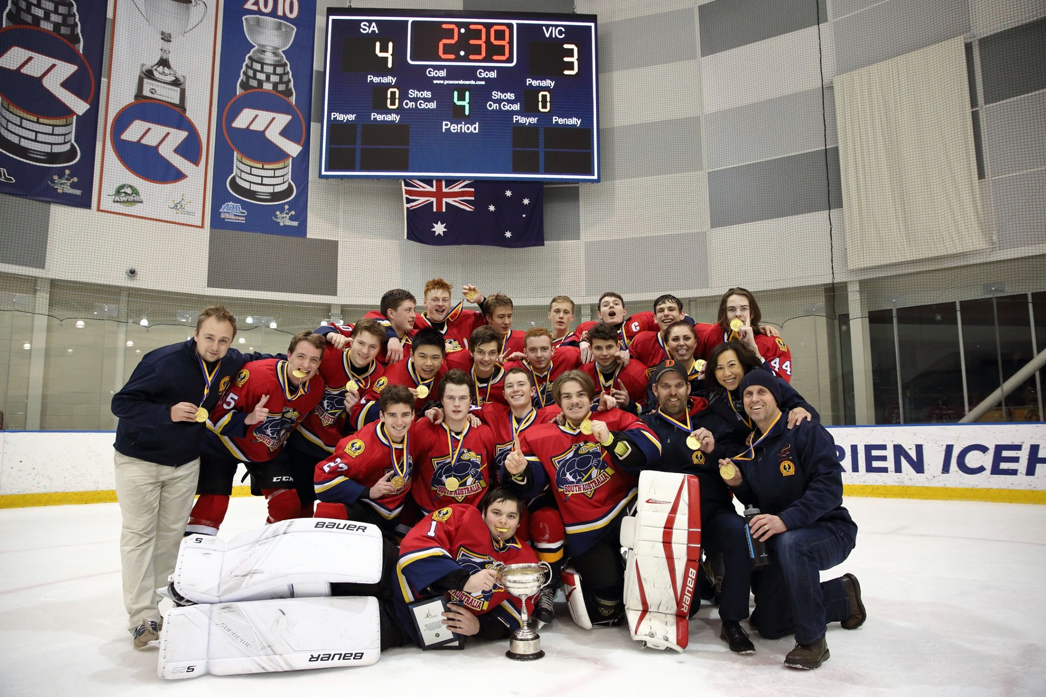 Tange 18 and Under Midgets - Ice Hockey Australia
